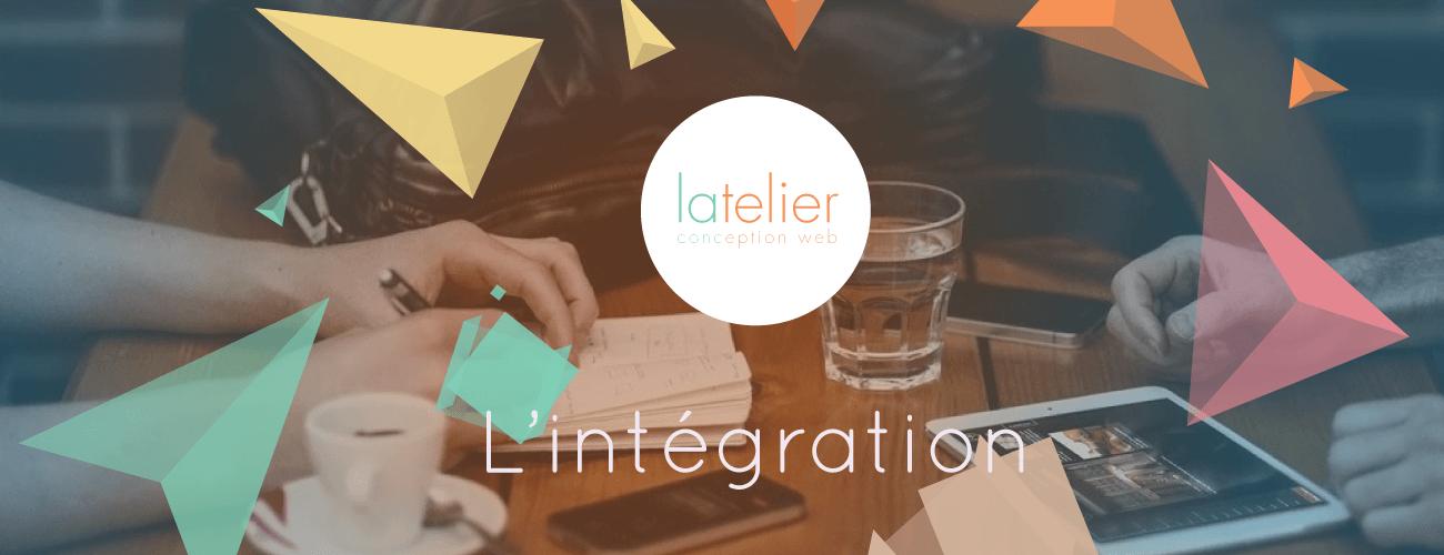 création site internet : l'intégration