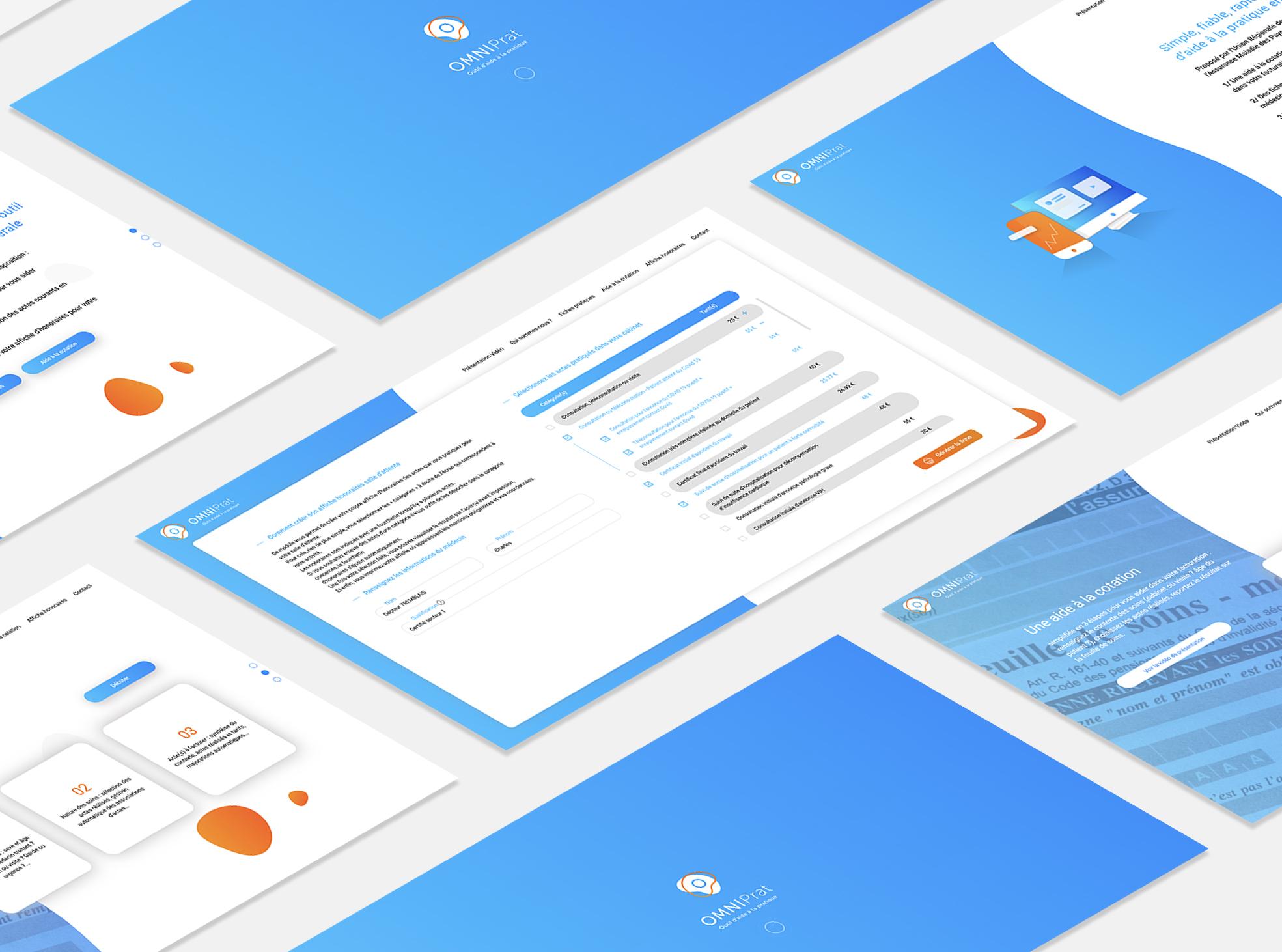 OMNIPRAT Web Application - LATELIER